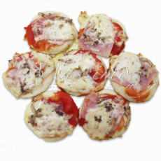 Mini pizze (1 kg – 40 kom) – Mini pizza Capricciosa