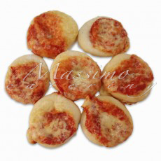 Mini pizze (1 kg – 40 kom) – Mini pizza Margerita