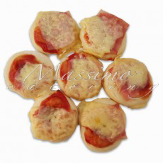 Mini pizze (1 kg – 40 kom) – Mini pizza Vesuvio
